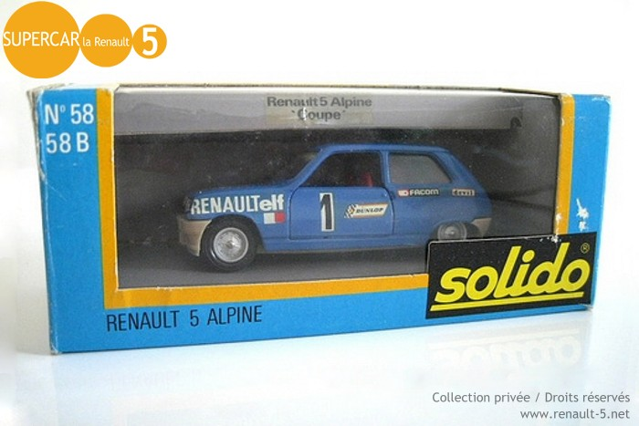 Renault 5 Alpine Coupe SOLIDO