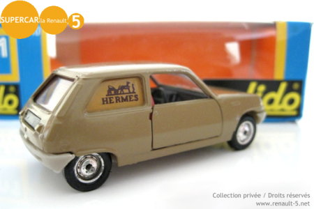 Renault 5 Hermes SOLIDO