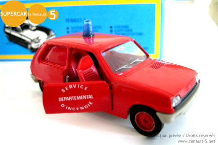 Renault 5 Pompiers SOLIDO